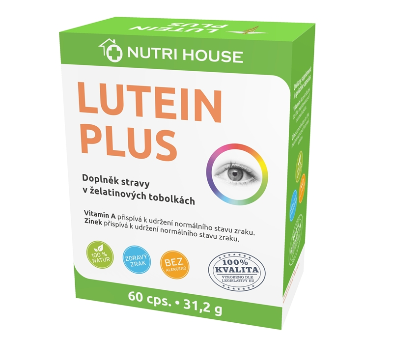 Lutein Plus 60 cps.